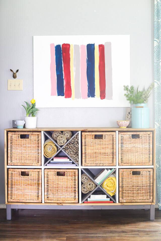 IKEA NORNAS Sideboard Makeover