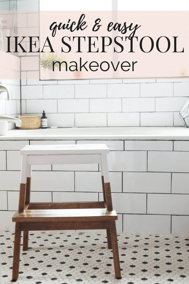 Quick and Easy IKEA Step Stool