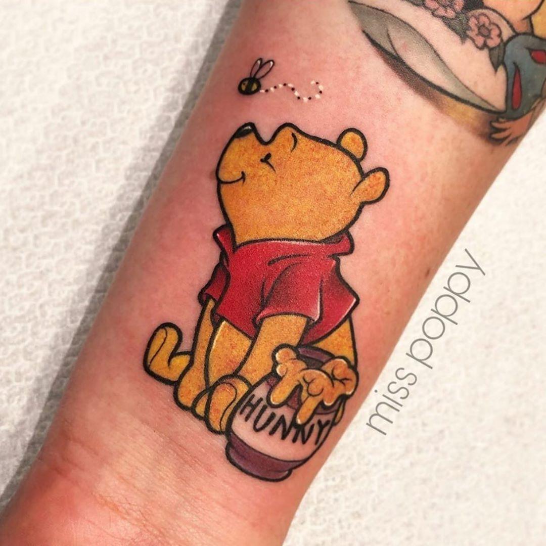 winnie the pooh tattoo