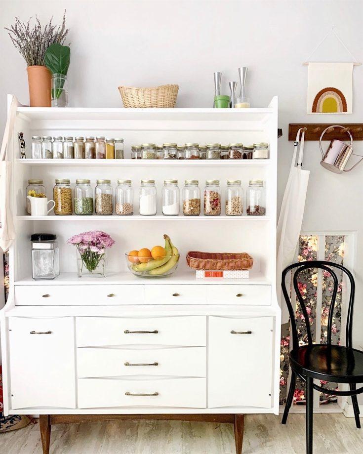 kitchen shelf storage