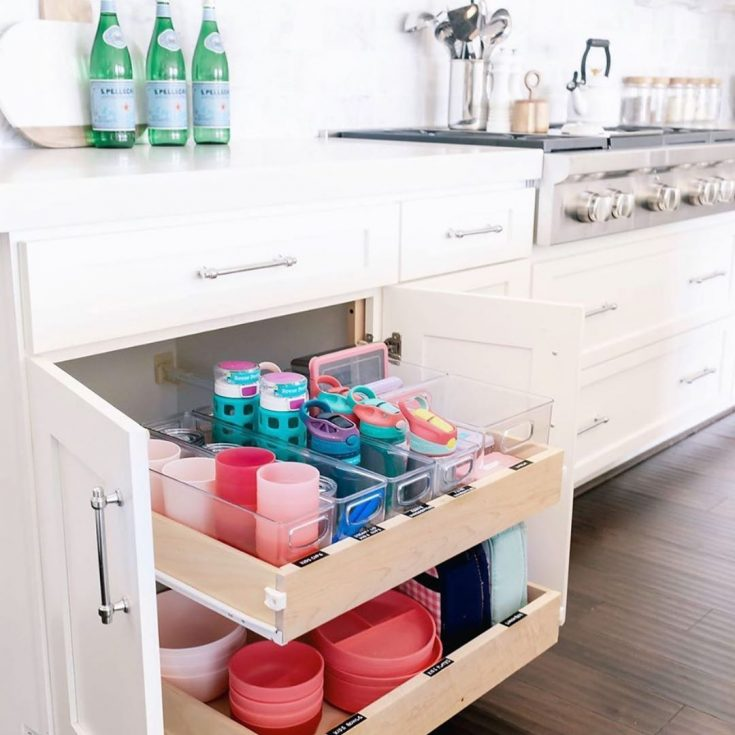 organize cups