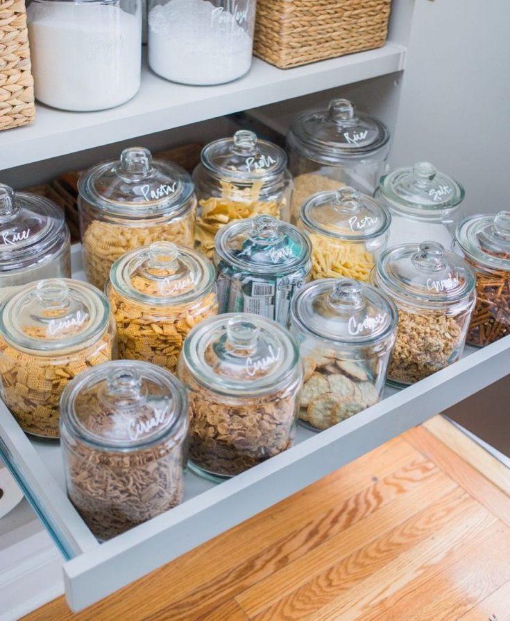 store food in jars