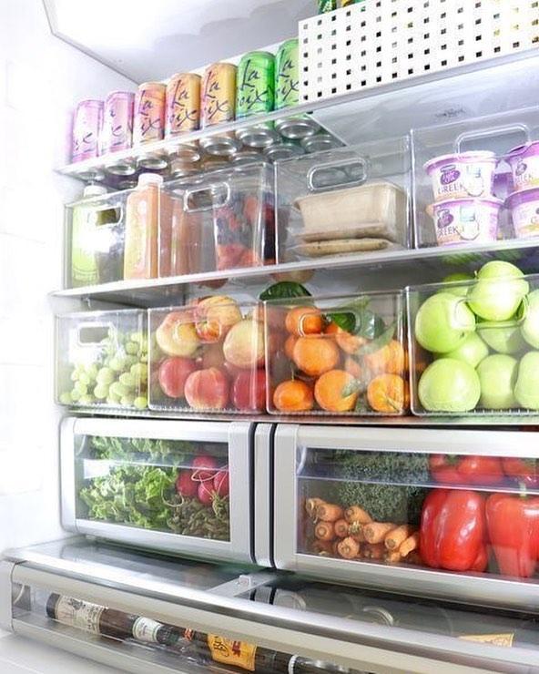 organize fruit and veggie