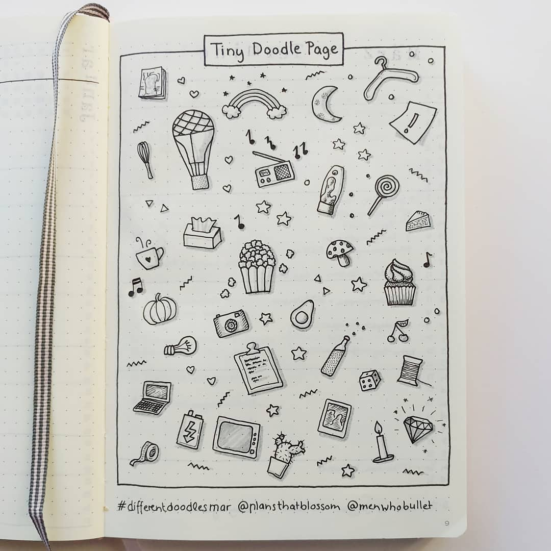 tiny doodle page