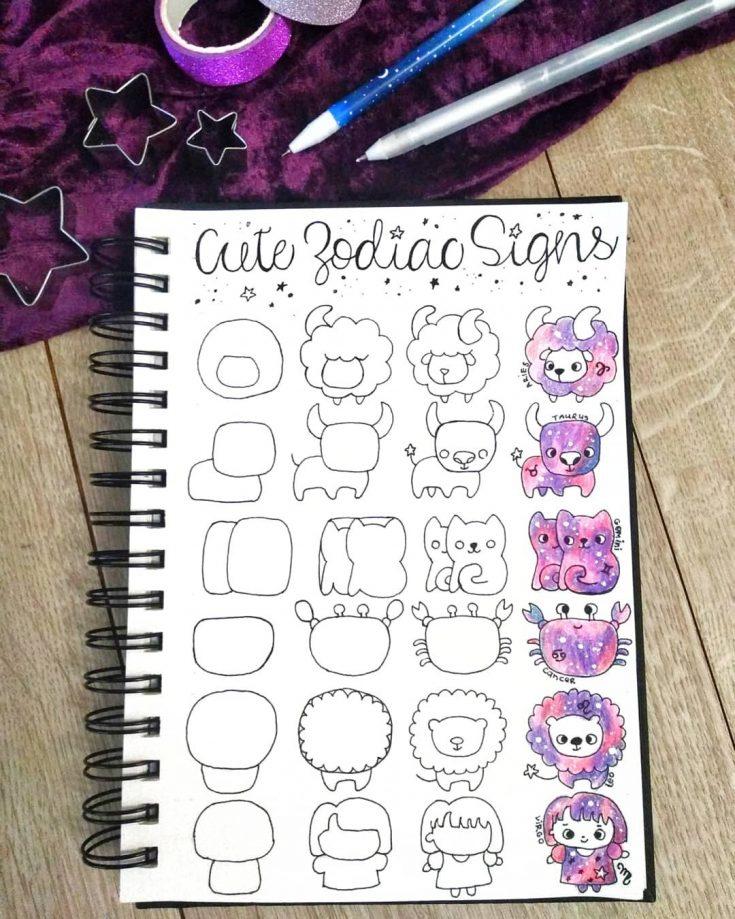 zodiac doodles