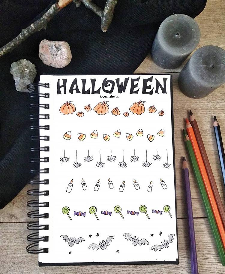 halloween dividers