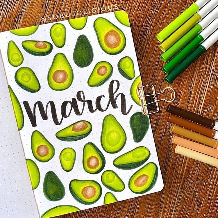 avocado cover page
