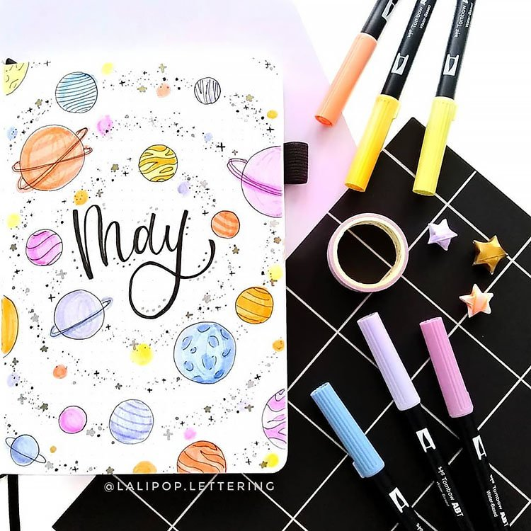 may planets cover page
