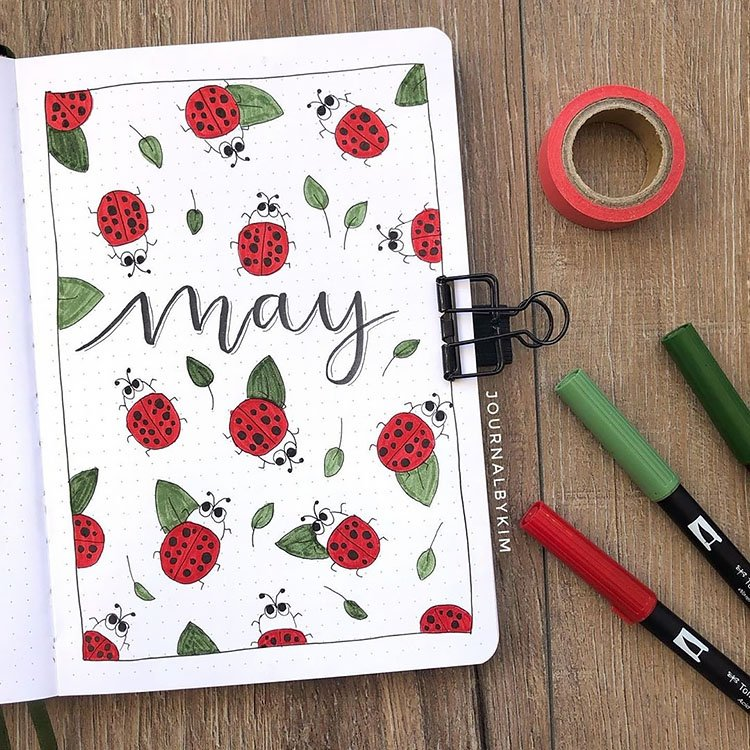 lady bugs may cover page