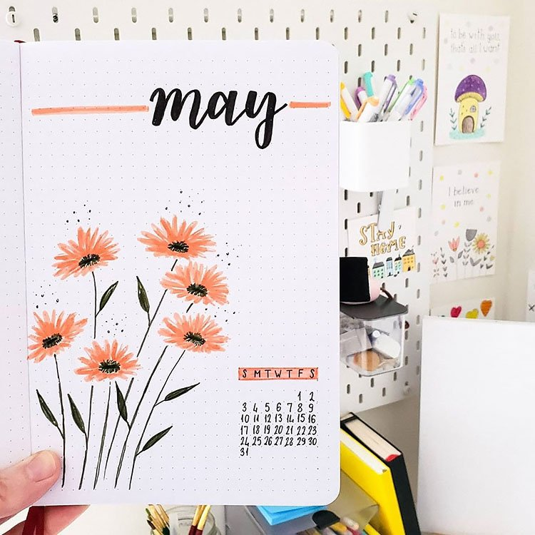 coral flowers may cover page