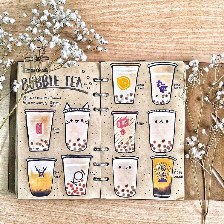 bubble tea design