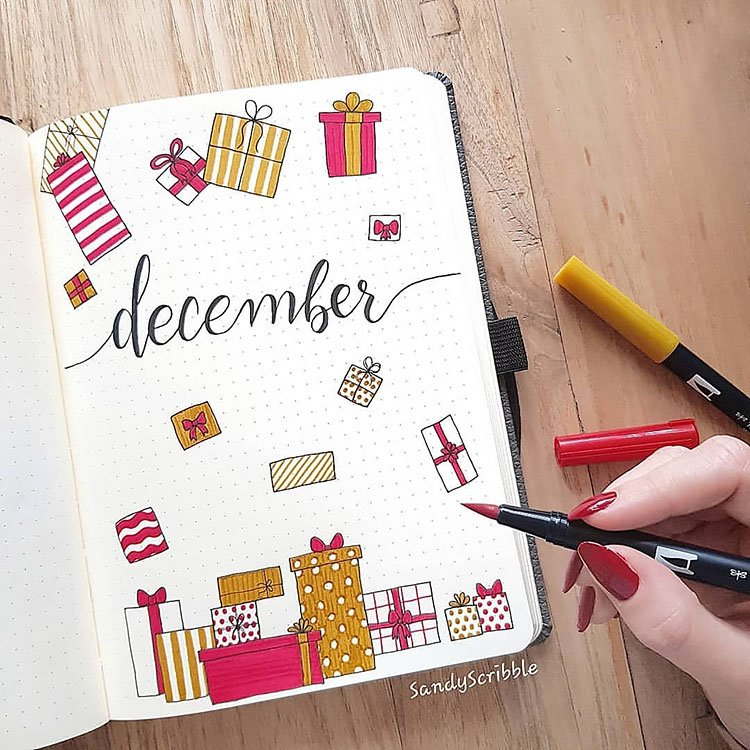 christmas gifts cover page