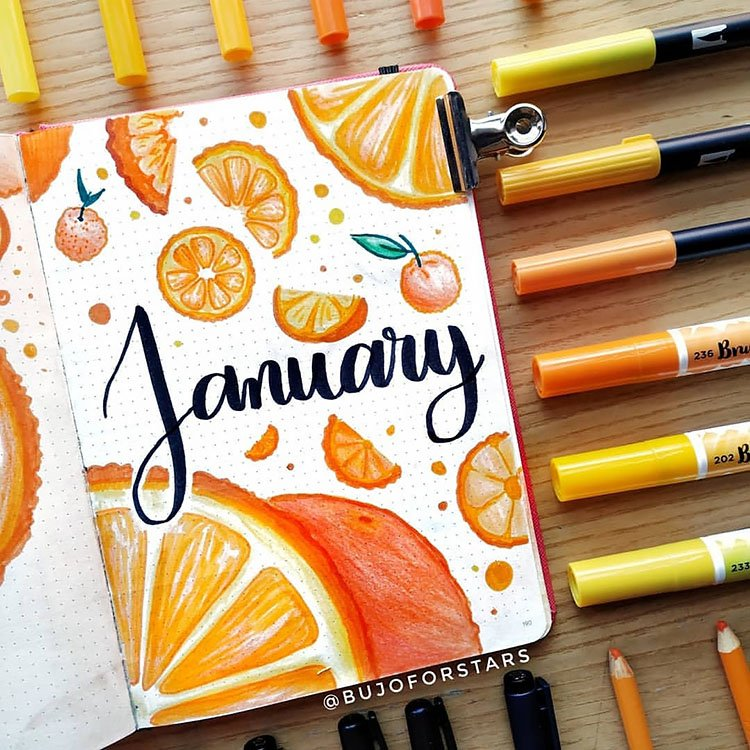 oranges january cover page