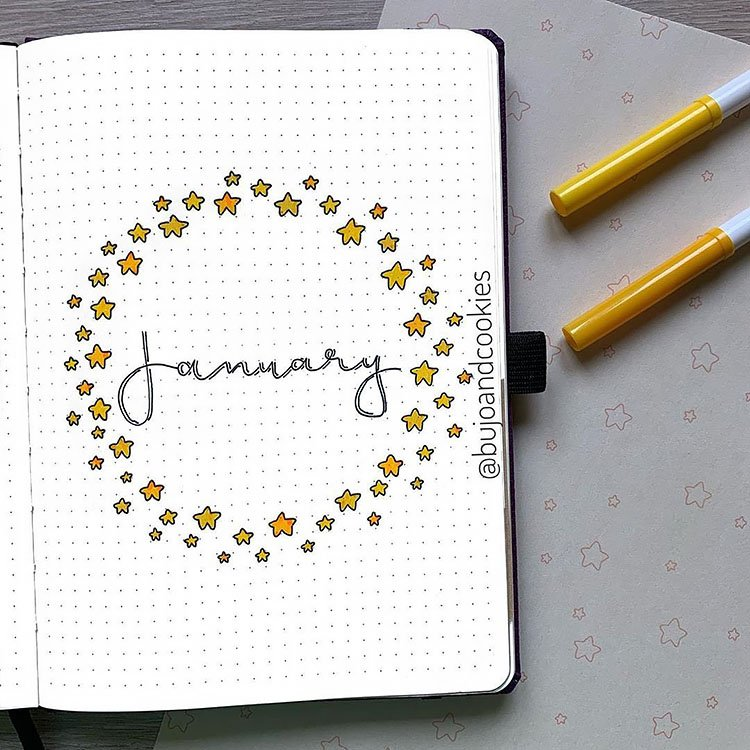 stars january cover page
