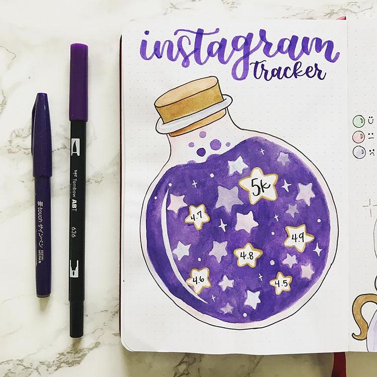 instagram mood tracker