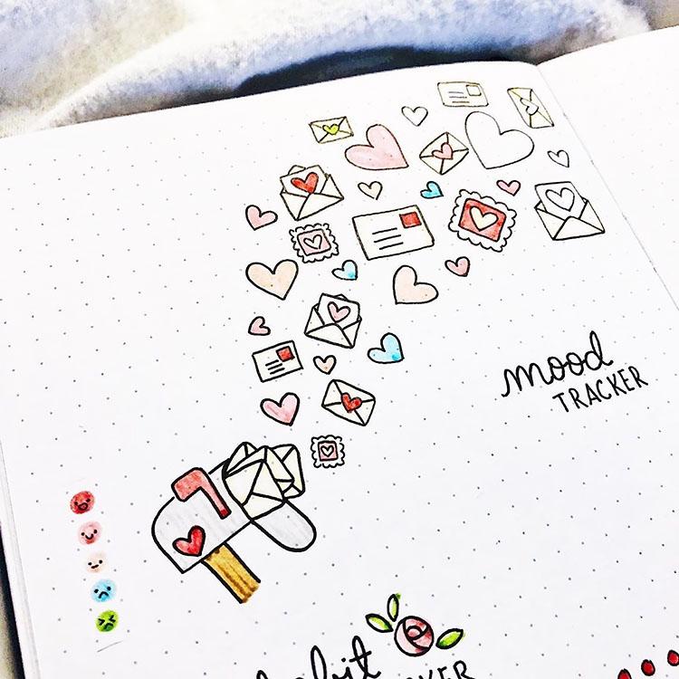 mailbox mood tracker