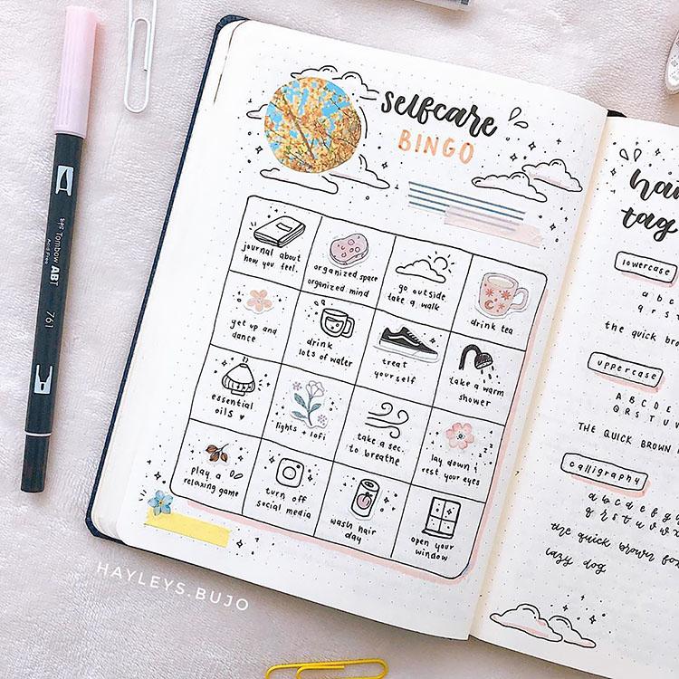 selfcare bingo
