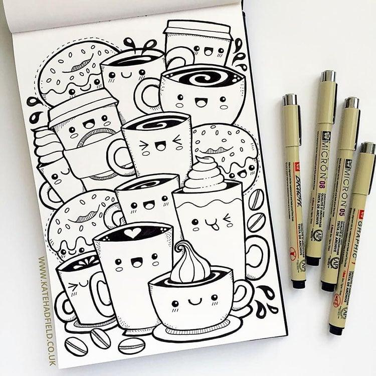 snack drawings