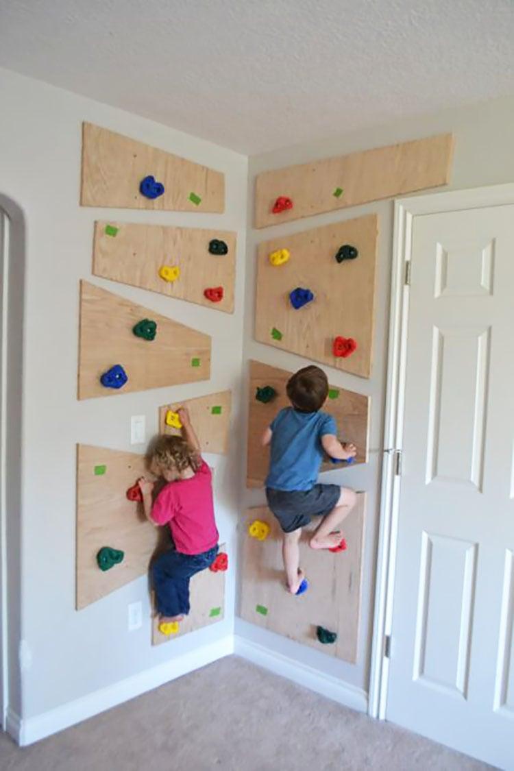diy rock climbing