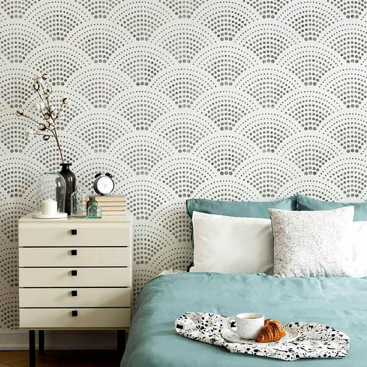 Radiant Scallop Wall
