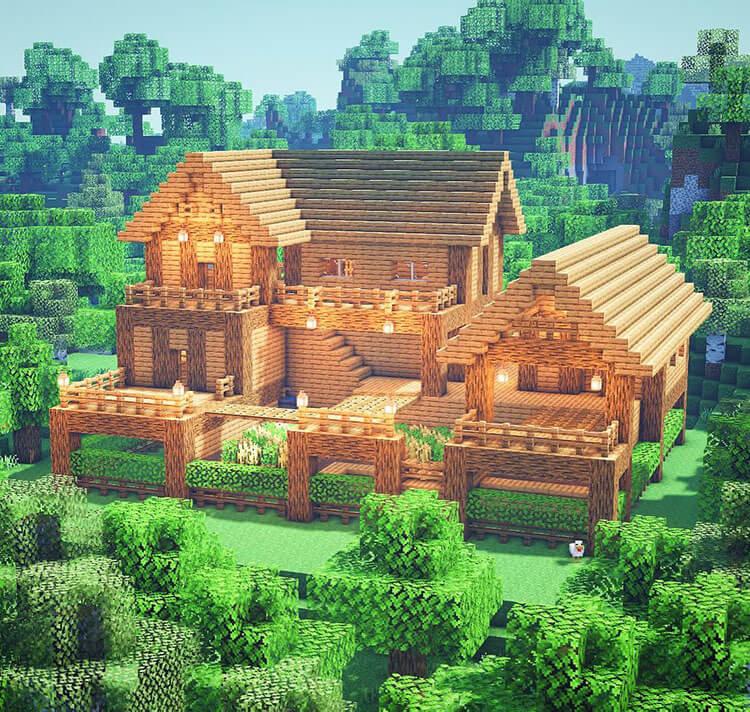 oak survival farmhouse
