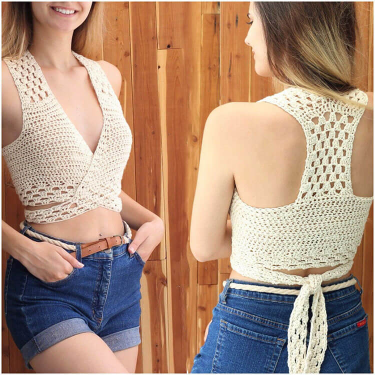 Crochet Halter Top