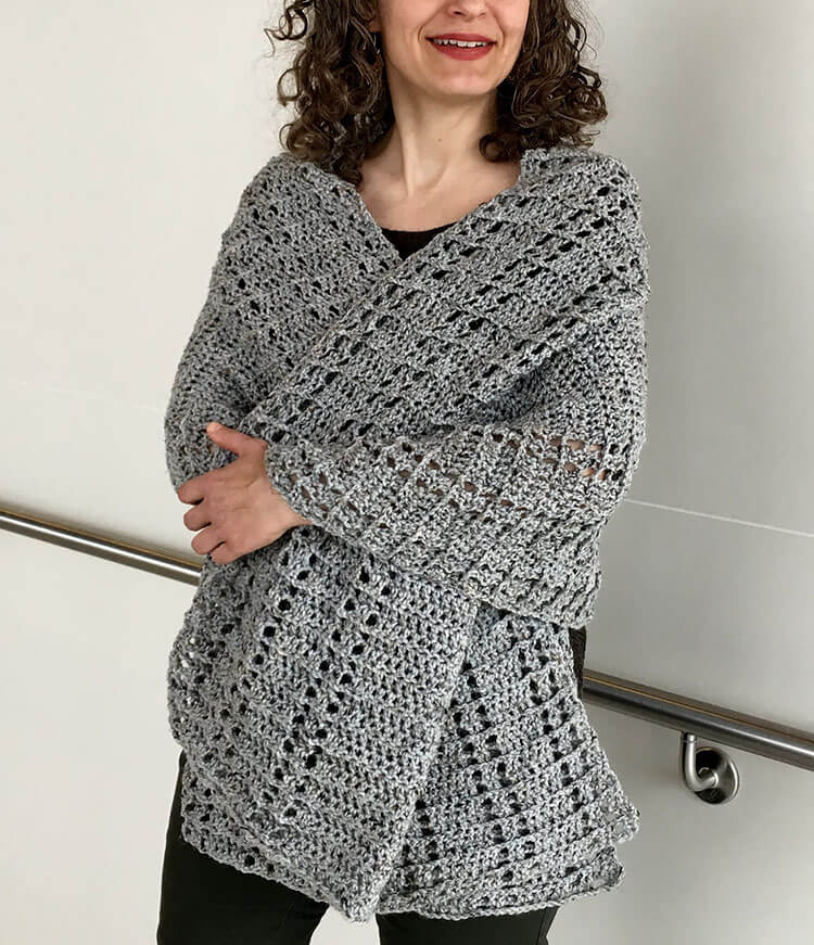 Easy Crochet Shawl