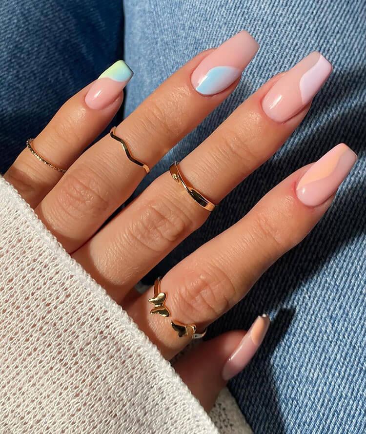 corner color nails