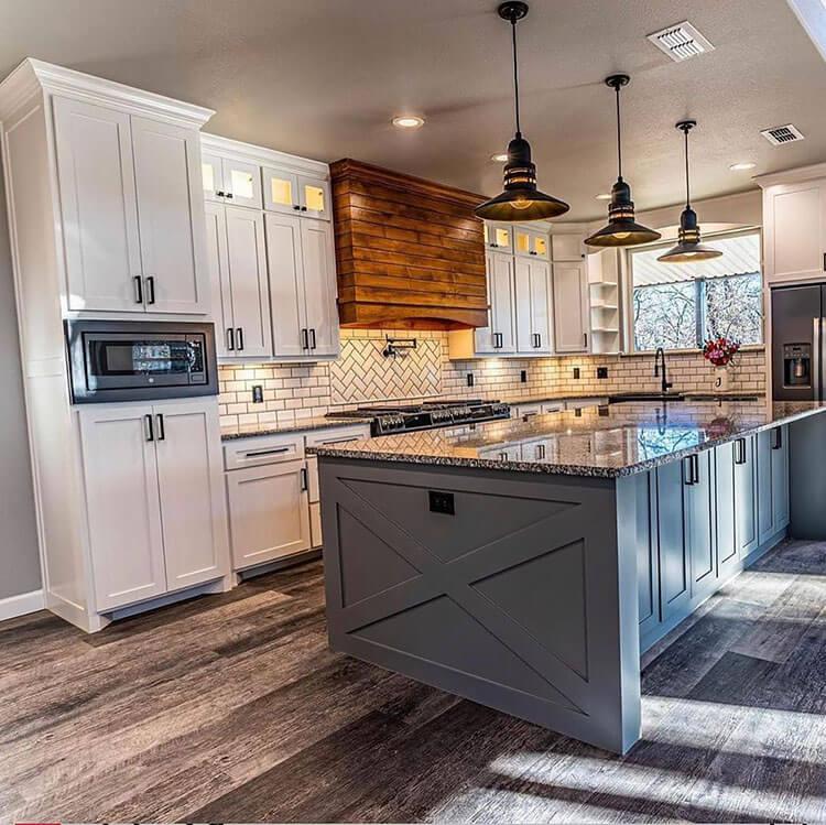 modern barndo kitchen