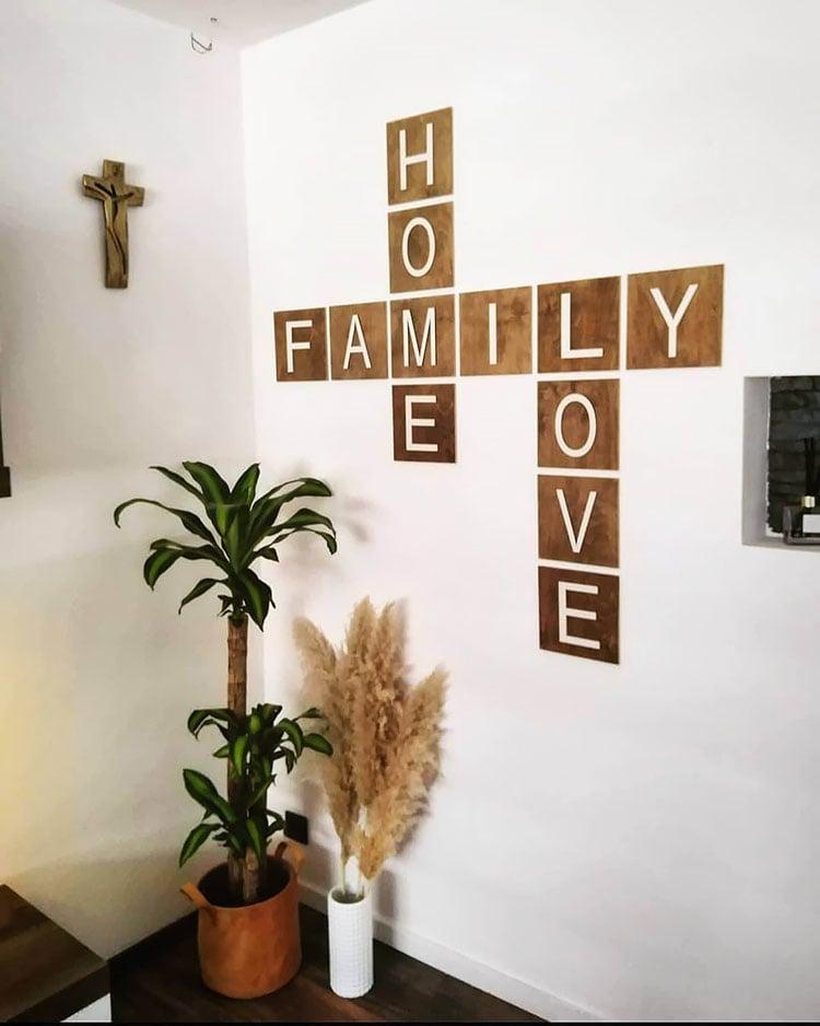 home family love tiles