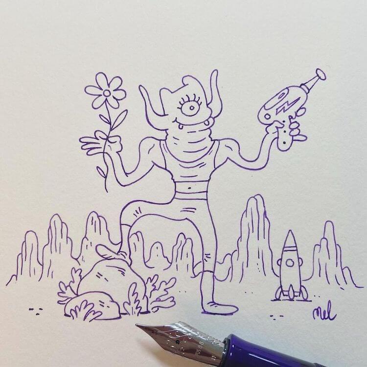 alien moster