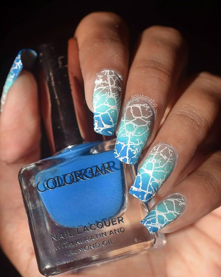 ocean ombre nails