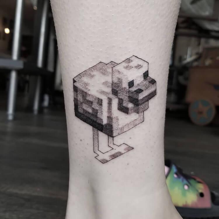 duck tattoo