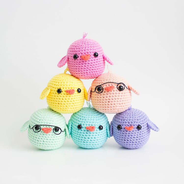 baby chicks amigurumi