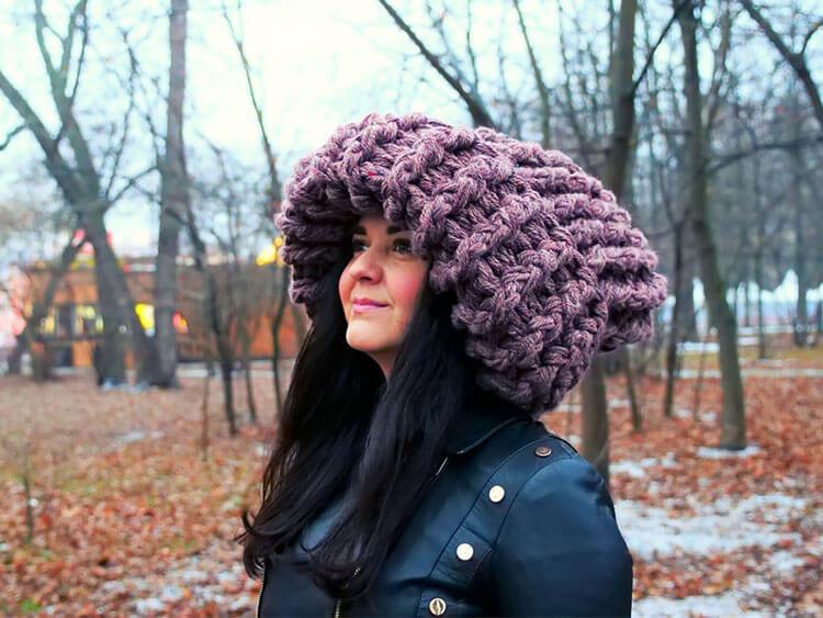 Super Bulky Crochet Hat
