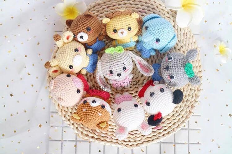 crochet zoo animals