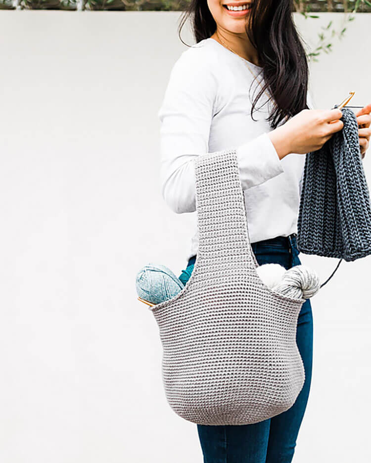Adley Project Bag and Basket