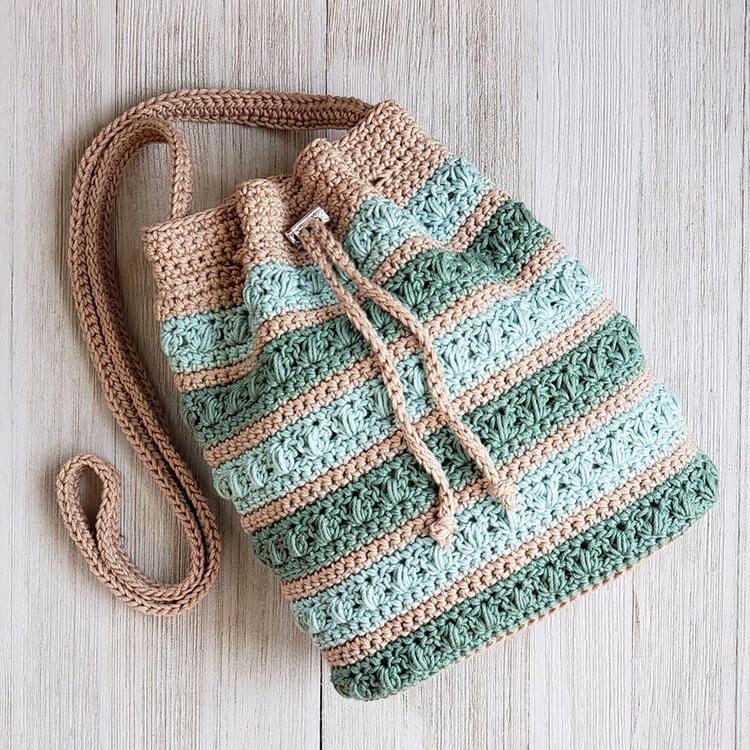 Succulent Drawstring Bag