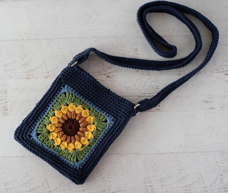 Sunflower Crossbody