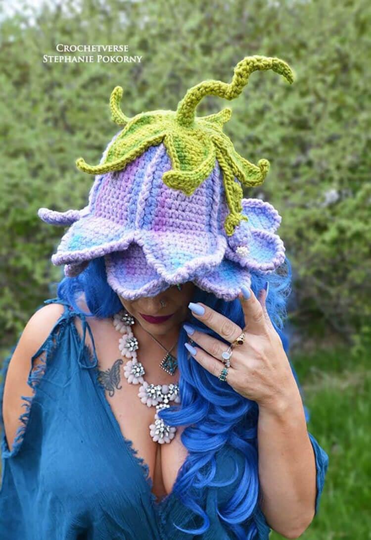 Flower Fairy Hat