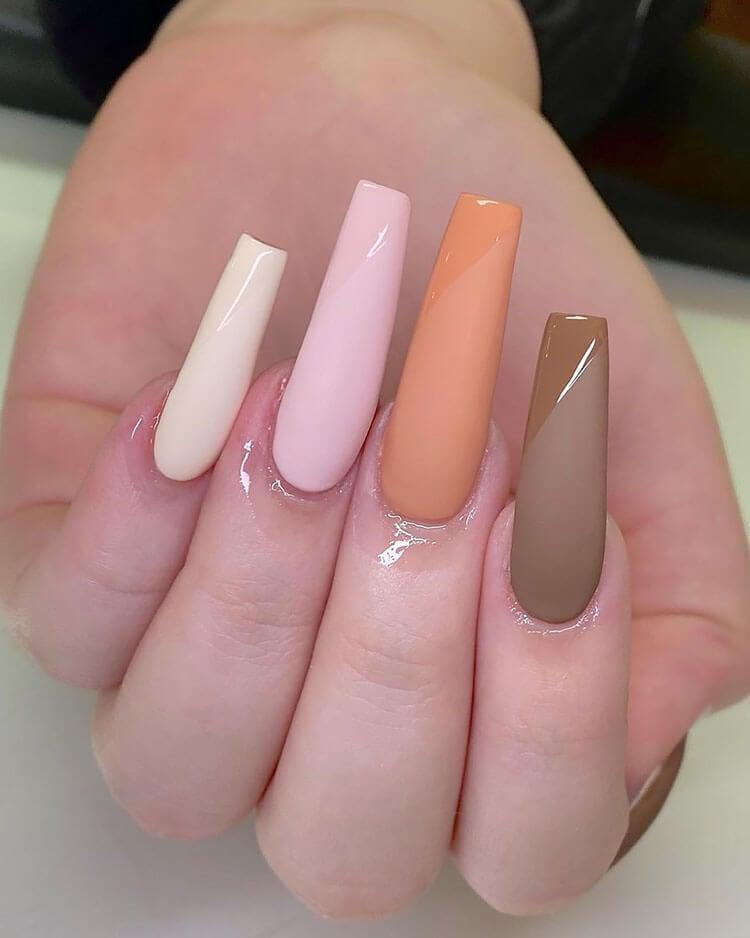 long fall nails