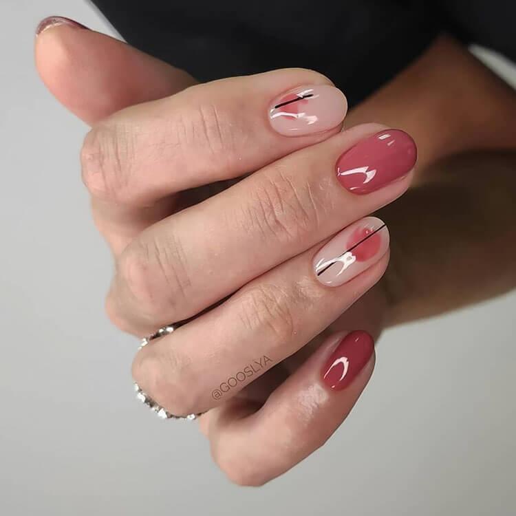 modern fall nails