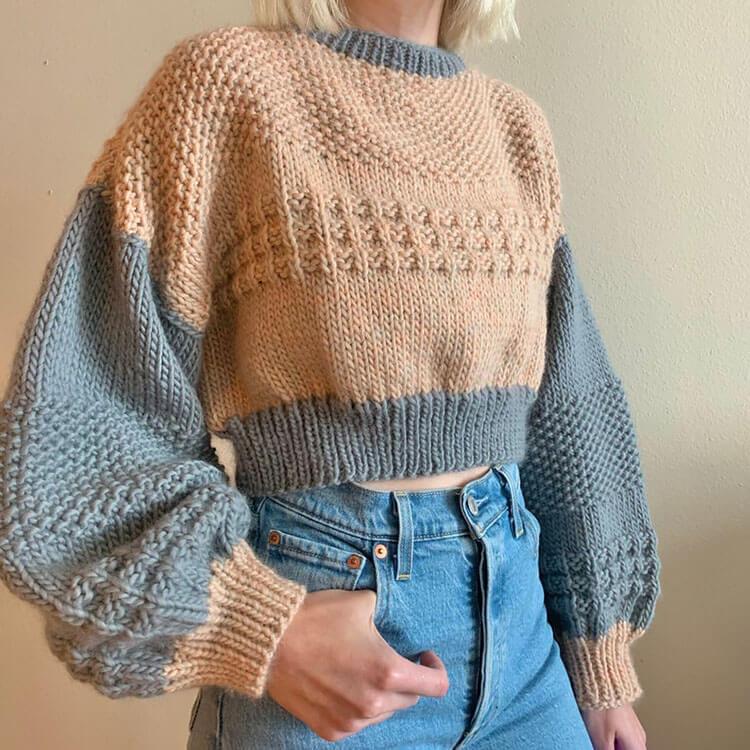 Hazy Skies Sweater