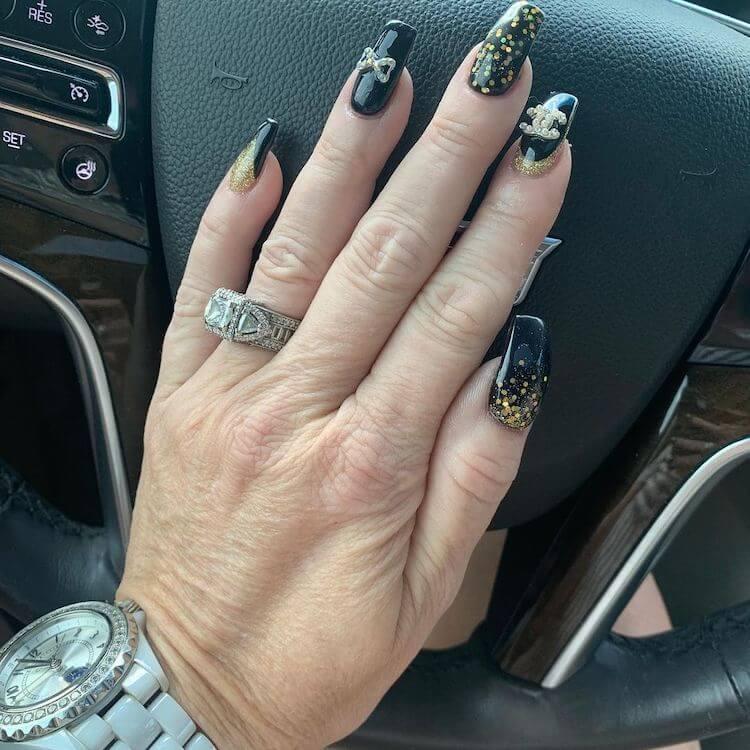 nail designs for senior women