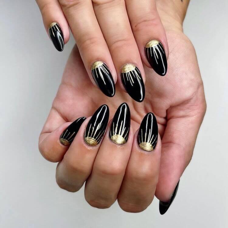 evil eye sunshine nails