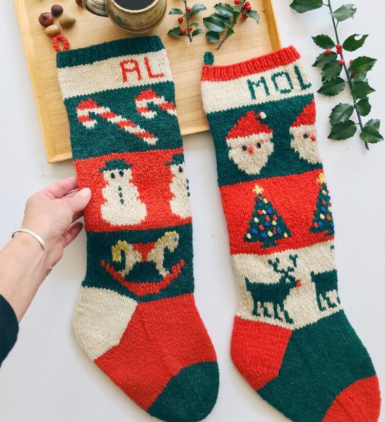 Mix and Match Stockings
