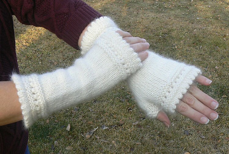 Susie Rogers' Reading Mitts