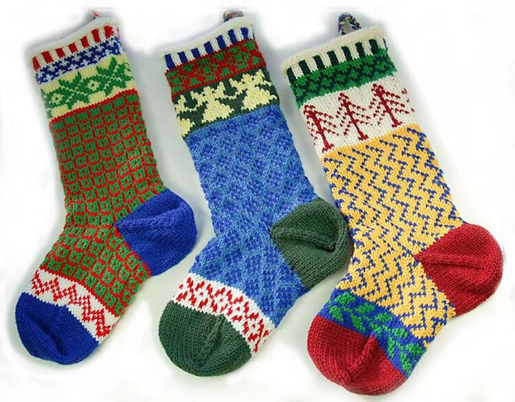 Cascade Christmas Stocking