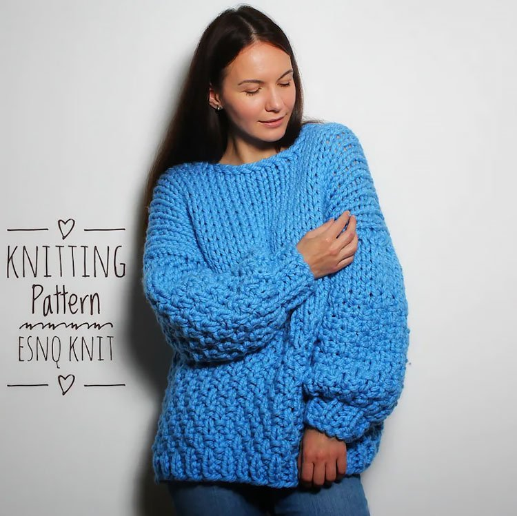 Beginner Frosty Sweater