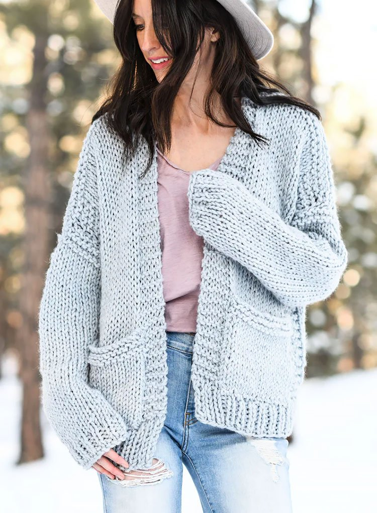 Moonbow Slouchy Knit Cardigan